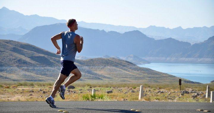 running in fresh air